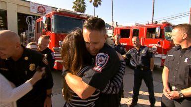 California homeowner tracks down hero fireman seen on doorbell cam