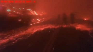 New video shows race to rescue nurses in wildfires