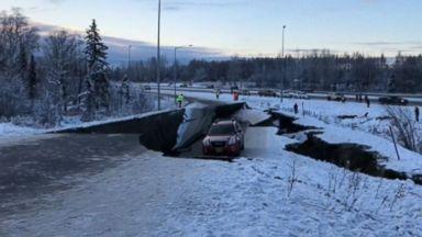 Massive earthquake hits Alaska