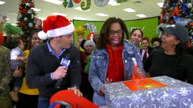 Military families surprised by having their holiday layaways paid on 'GMA'