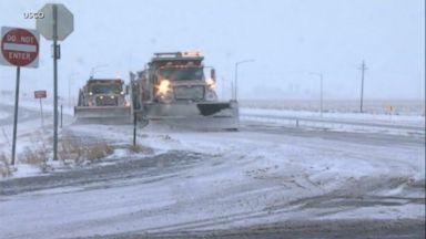 Snow and ice wreak havoc for travelers across Midwest