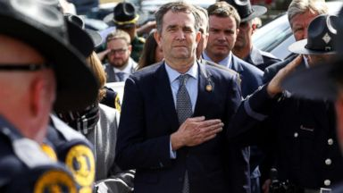 Virginia governor makes first public appearance since blackface scandal