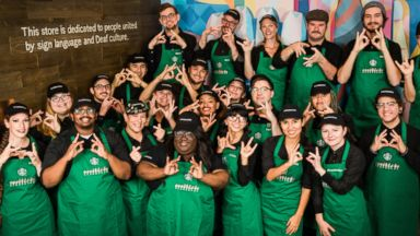 Starbucks opens store where all employees know American Sign Language