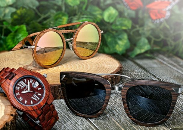 Earth Wood Goods: Watches & Sunglasses