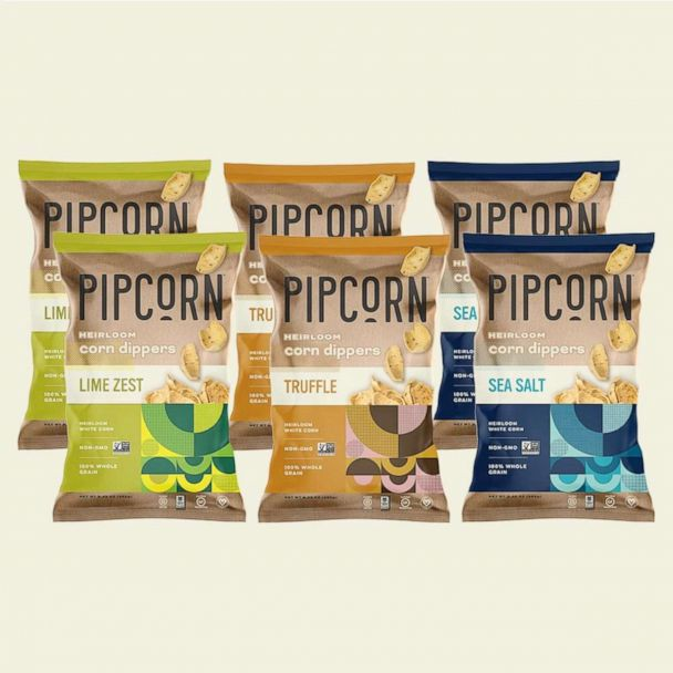 Pipcorn: Crackers, Corn Dippers or Crunchies