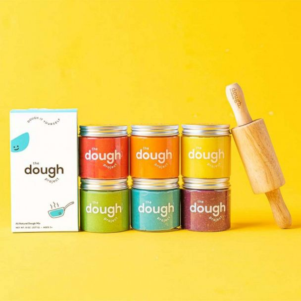 The Dough Project: All-Natural Plant-Based Playdough