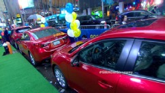 Cleveland auto show offficial vehicle giveaway