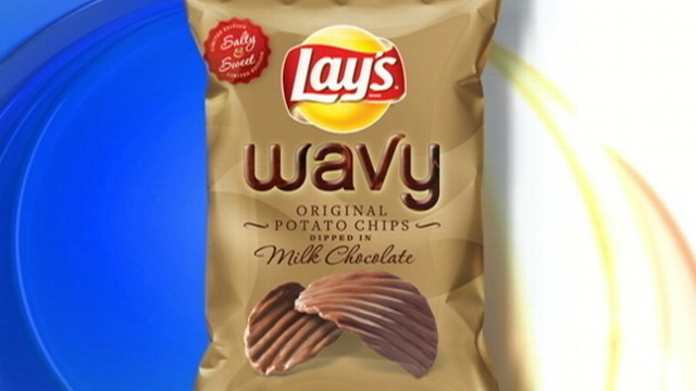 Lays Expected To Debut New Chocolate Dipped Potato Chips