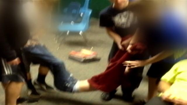 Girls being stripped video