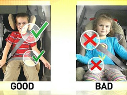 Is Your Child S Car Booster Seat Safe Abc News