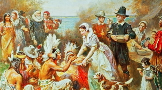 history of thanksgiving - photo #6