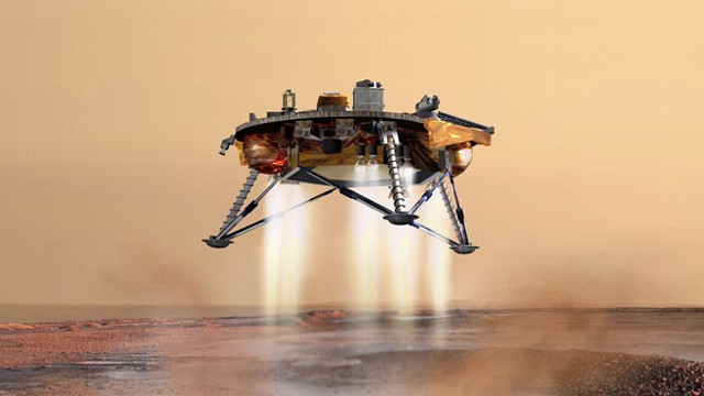 nasa mars rover landing today - photo #35