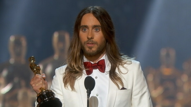Oscars 2014: Jared Leto Acceptance Speech Video - ABC News