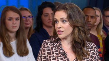 Alyssa Milano: Trump's claim of a 'scary time for young men' because of #MeToo is a fear tactic