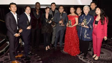 Stars of 'Crazy Rich Asians' react to Golden Globe nominations