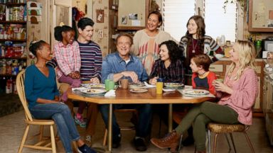 Sara Gilbert said it was 'emotional moving forward' on 'The Conners' without their matriarch Roseanne