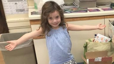 Girl, 4, named Florence helps victims of Hurricane Florence