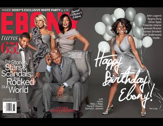 Magazine taraji ebony henson cover