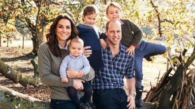 Prince William, Kate Middleton, Prince Harry and Meghan Markle share their Christmas card photos