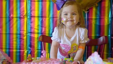3-year-old girl gets life-saving birthday gift: a new liver and kidney
