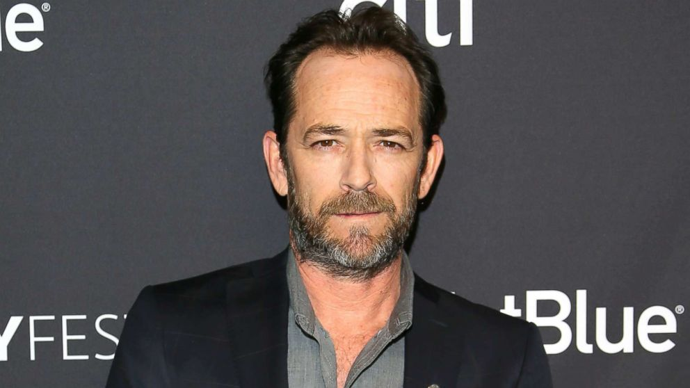5d21b5508 90210' star Luke Perry, 52, dies in Los Angeles after a massive st ...