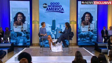 Michelle Obama speaks out on historic midterms and whether Hillary Clinton should run in 2020
