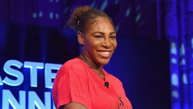 Watch Serena Williams sing topless for breast cancer awareness month
