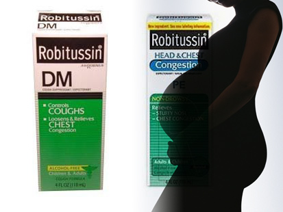 Pregnant Robitussin 78
