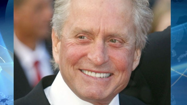 this week in health michael douglas 39 cancer video abc news. Black Bedroom Furniture Sets. Home Design Ideas