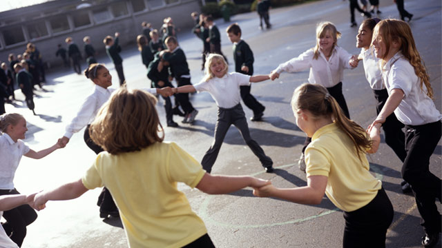 children fighting at school - photo #13