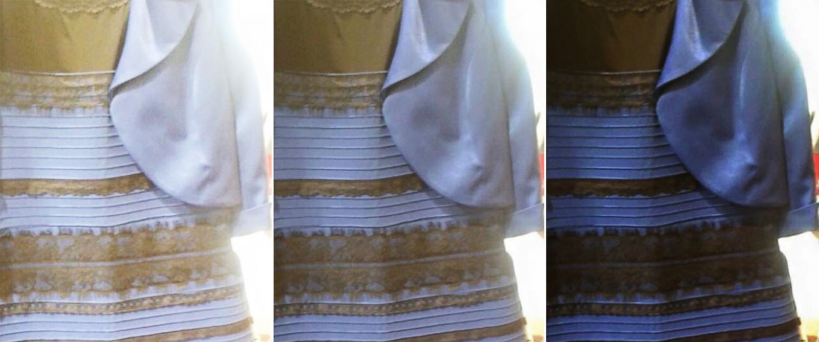 White And Gold Or Black And Blue Why People See The Dress