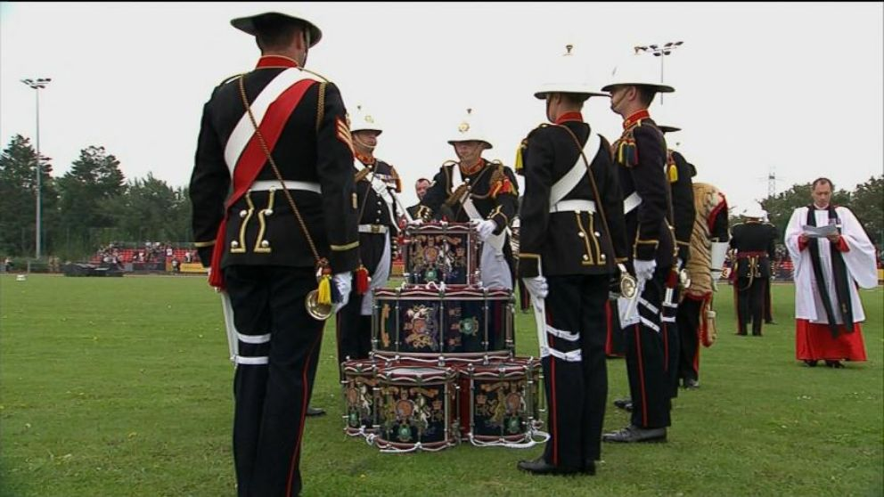 drumhead service at inaugural invictus games video abc news. Black Bedroom Furniture Sets. Home Design Ideas