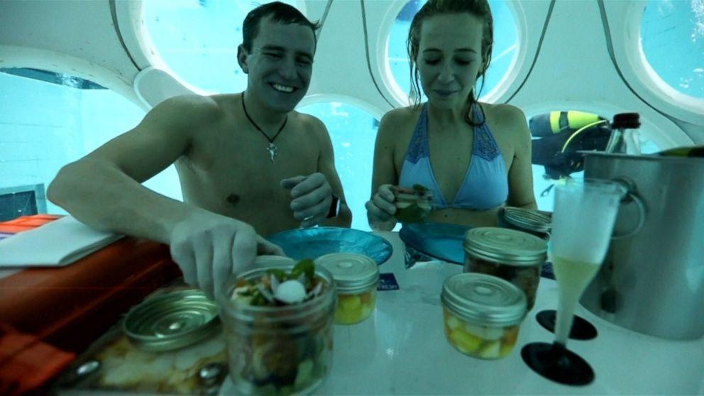 Underwater Restaurant In Belgium Makes A Splash Video