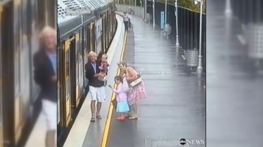 Sydney Trains releases shocking footage to improve child safety