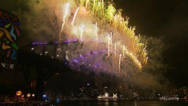 Sydney, Australia Celebrates the Start of 2018