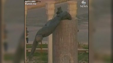 15 years ago, Iraqis rejoiced by toppling Saddam statue