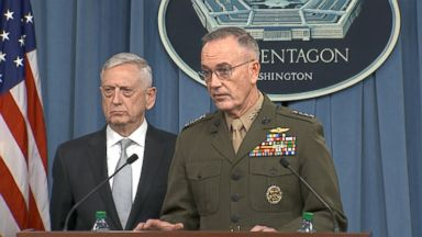 Pentagon says Syria strike specifically hit 3 targets