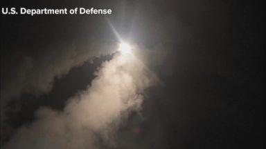 US launches retaliatory airstrikes against Syria