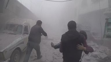 What site of suspected chemical attack in Syria looks like 10 days later
