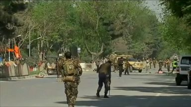 9 journalists killed in Kabul blast