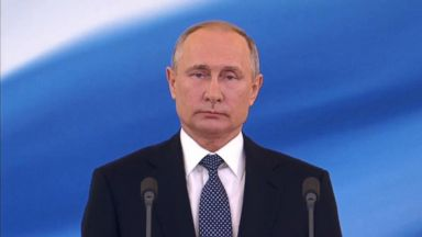 Putin sworn in as president for fourth term at Kremlin ceremony