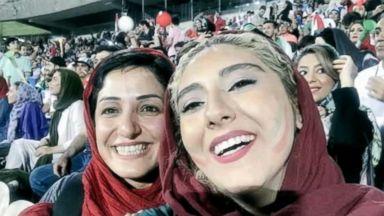 Iranian women attend World Cup soccer matches