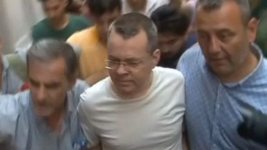 American pastor detained in Turkey moved to house arrest