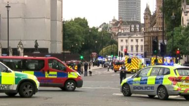 London police investigating vehicle crash as possible terrorism