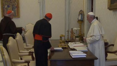 US Catholic Church leaders meet with Pope at Vatican