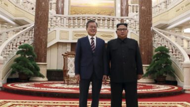 North and South Korean leaders meet for 3rd summit
