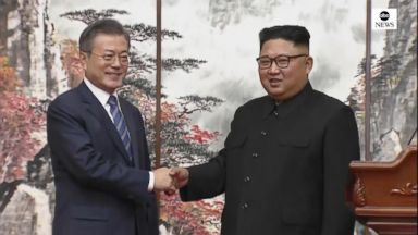 Korean leaders agree to enter an 'era of no war'
