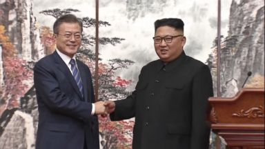 Korean leaders sign agreement for North Korea to take further steps to denuclearize