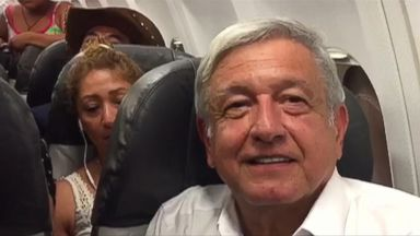 Mexico's president-elect grounded on commercial plane for hours