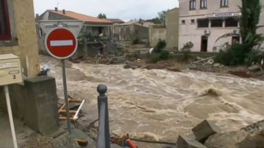 At least 10 people killed as flash floods hit southwest of France